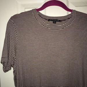 Brandy Melville Striped T Shirt Dress